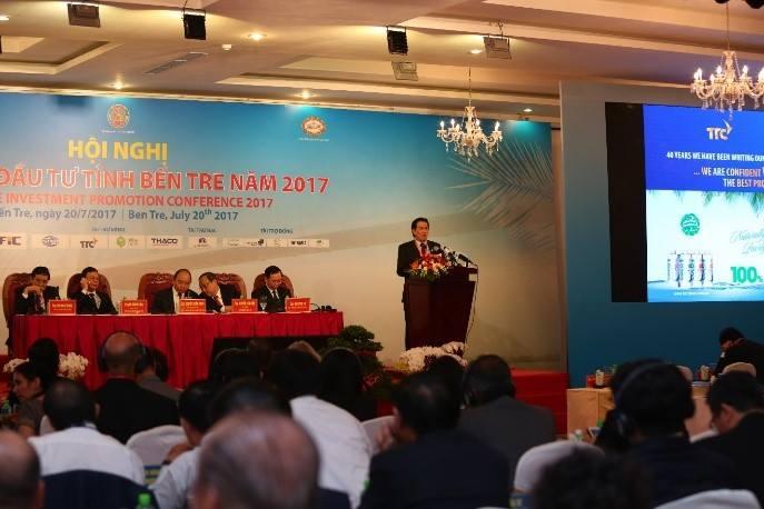 Miaqua đồng hành cùng Hội nghị Xúc tiến Đầu tư tỉnh Bến Tre năm 2017 và ra mắt Cộng đồng khởi nghiệp