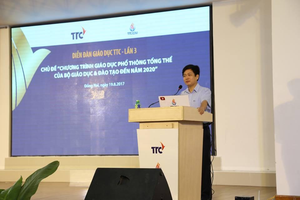 Miaqua đồng hành cùng Công ty CP Giáo dục Thành Thành Công tham gia tài trợ Diễn đàn Giáo dục TTC lần thứ 3