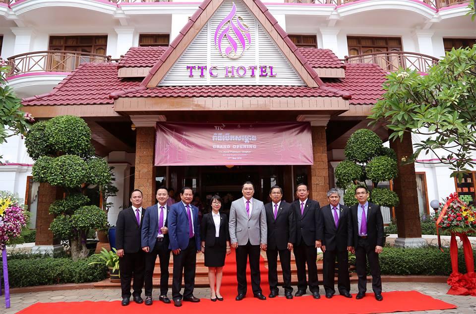 Miaqua tham gia khai trương TTC Hotel Premium – Angkor